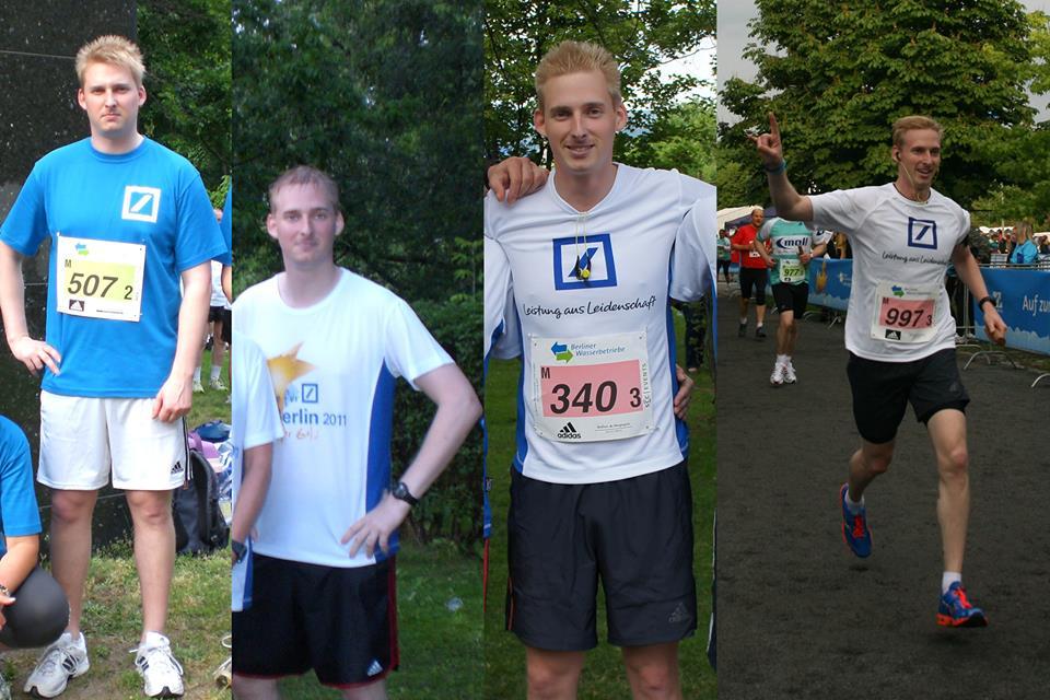 Coach Philipp Tews wurde in neun Monaten zum Läufer und nahm dabei 20 Kilo ab.