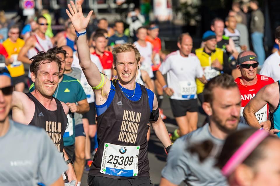 Coach Philipp Tews lief seine Bestzeit von 3:02:25 beim Berlin-Marathon 2015.